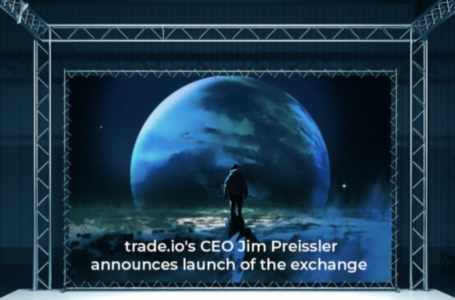 trade.io's CEO announces launch date of highly anticipated innovative crypto exchange at popular Bloomberg event in London
