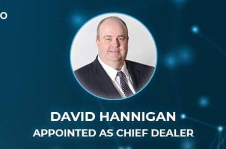 trade.io Appoints Banking Veteran David Hannigan To Run OTC Desk