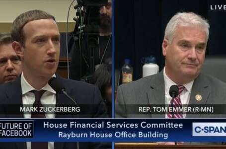 ICYMI: Emmer Announces New Legislation While Questioning Facebook CEO Mark Zuckerberg